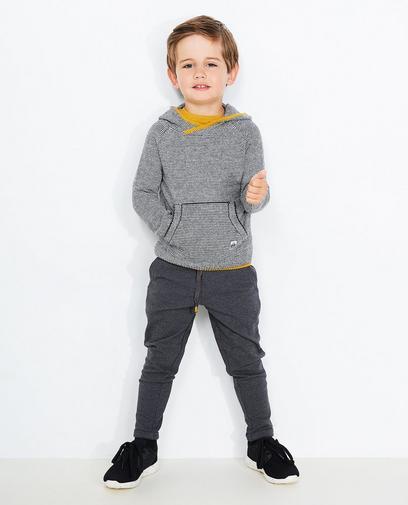 Fijn gestreept trui